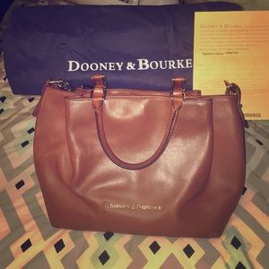 Authentic Dooney & Bourke bag *tote bag included*
